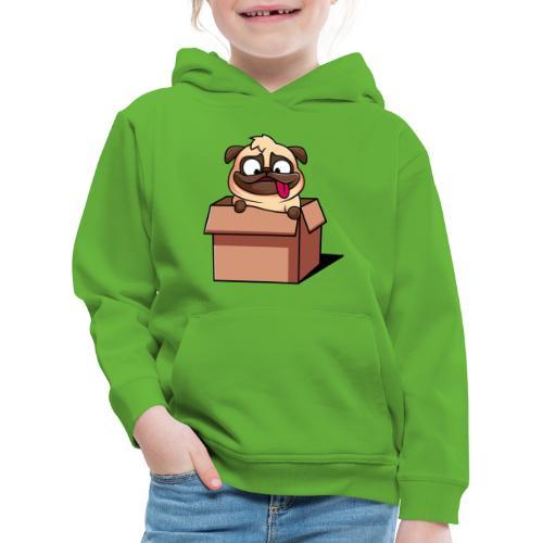sorpresa del carlino - Felpa con cappuccio Premium per bambini