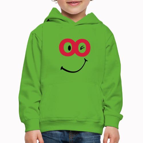 sorriso - Felpa con cappuccio Premium per bambini