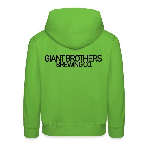 Giant Brothers Brewing co SVART - Premium-Luvtröja barn