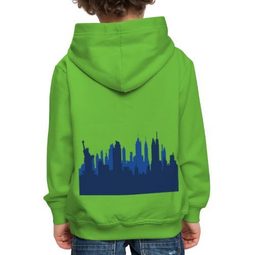 Manhattan Skyline - Pull à capuche Premium Enfant