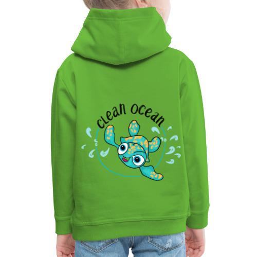 Clean Ocean - Kids' Premium Hoodie