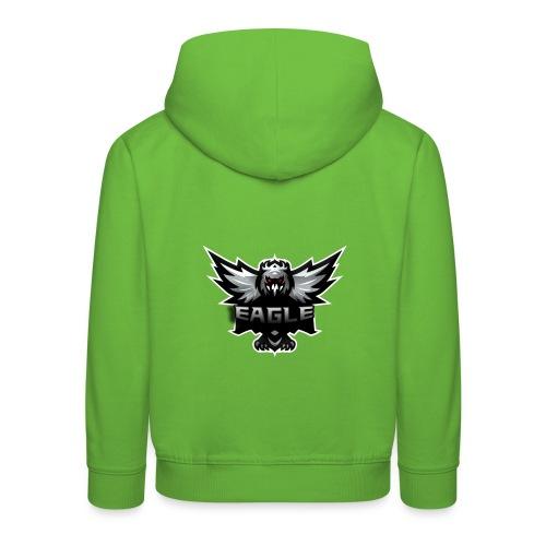 Eagle merch - Premium hættetrøje til børn