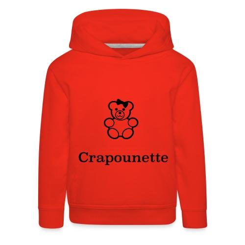 Crapounette - Pull à capuche Premium Enfant