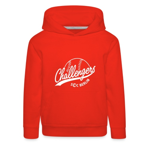 Challengers Logo - Kinder Premium Hoodie