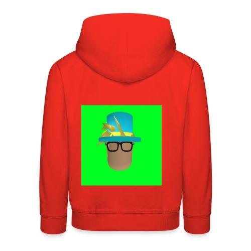 MrWhatWhat Logo Merch - Kids' Premium Hoodie