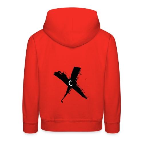 Cinnox Logo Kreuz - Kinder Premium Hoodie