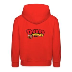 Fortnite Durrr Burger - Kids' Premium Hoodie