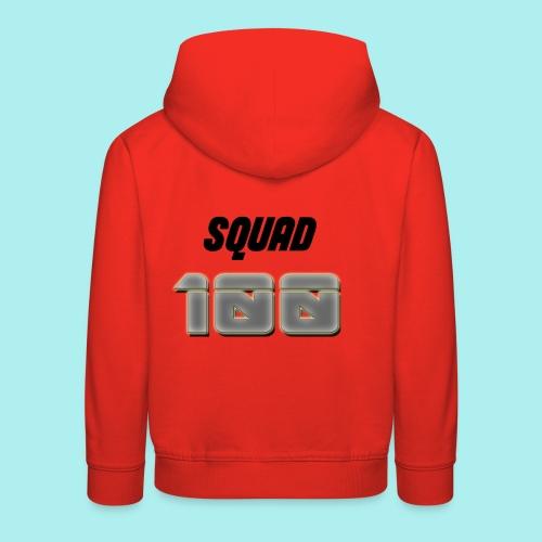 METTALIC 100 SUBSCRIBERS - Kids' Premium Hoodie
