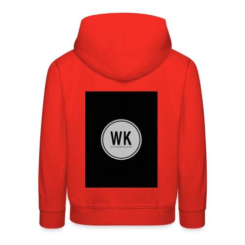 WienerKickerZ Logo - Kinder Premium Hoodie