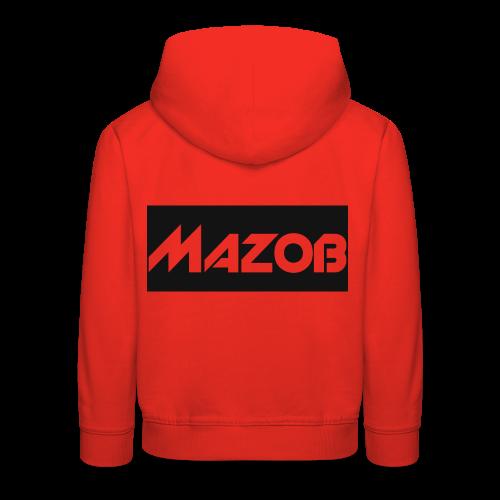 Mazob_Shirt_Design - Kids' Premium Hoodie