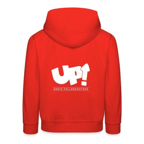 Up Dance White Logo - Kids' Premium Hoodie