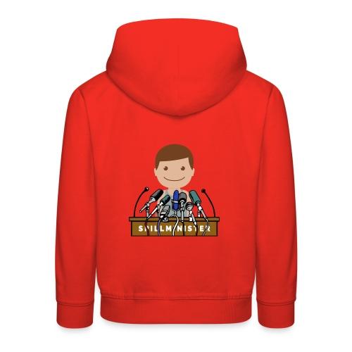 Spillminister logoen - Premium Barne-hettegenser