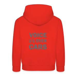 Voice over Cars - Kinder Premium Hoodie