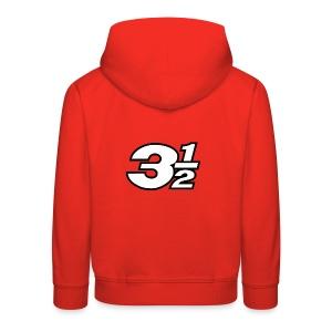 Three and a Half Logo - Kids' Premium Hoodie