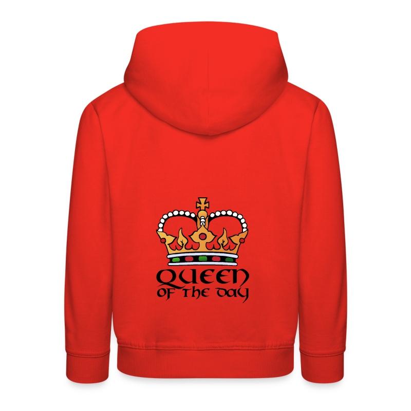 Queen of the day - Kinder Premium Hoodie