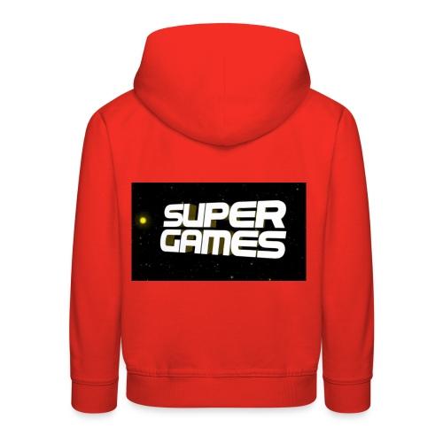 #SuperGames - Kinder Premium Hoodie