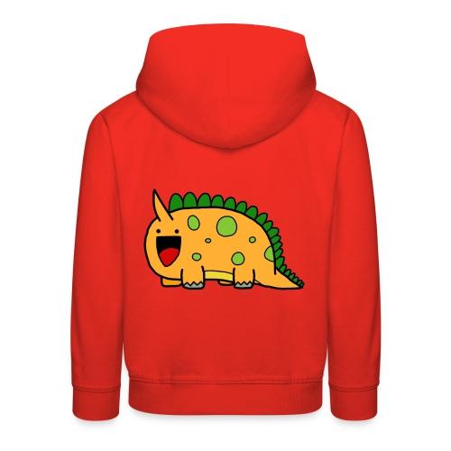 cute-dinosaur-clipart-panda-free-clipart-images-Yj - Felpa con cappuccio Premium per bambini