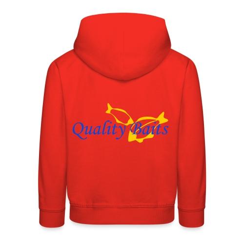 Quality Baits Logo - Kids' Premium Hoodie