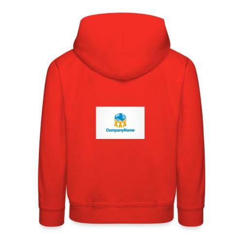 giro del mondo - Felpa con cappuccio Premium per bambini