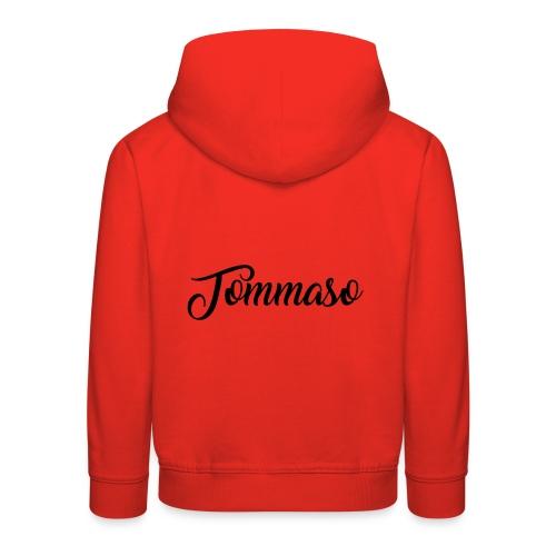 tommaso - Felpa con cappuccio Premium per bambini
