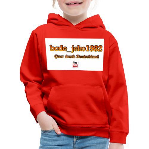 quer durch deutschland - Kinder Premium Hoodie