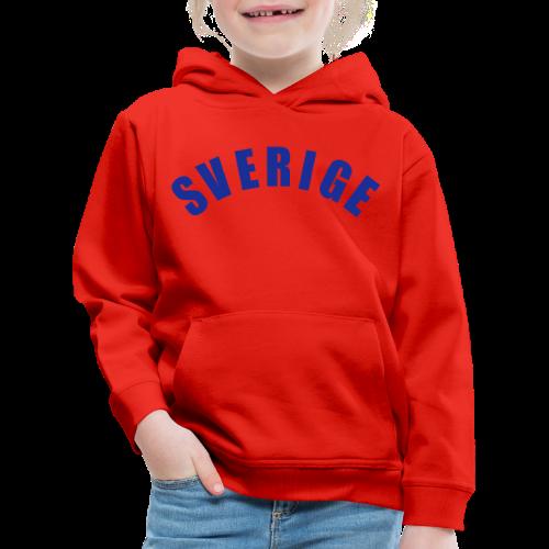 T-shirt, Sverige - Premium-Luvtröja barn