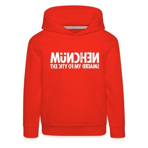 München (white oldstyle) - Kinder Premium Hoodie