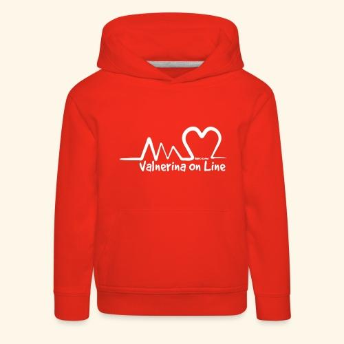 Valnerina On line APS maglie, felpe e accessori - Felpa con cappuccio Premium per bambini