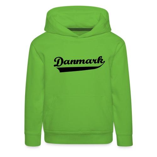 Danmark Swish - Premium hættetrøje til børn