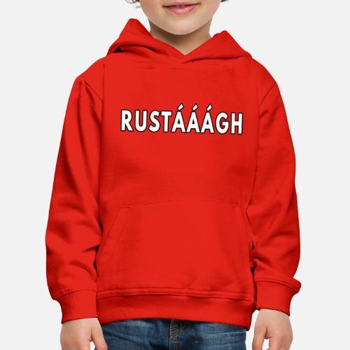 Rustaaagh Blijven! - Kinderen trui Premium met capuchon
