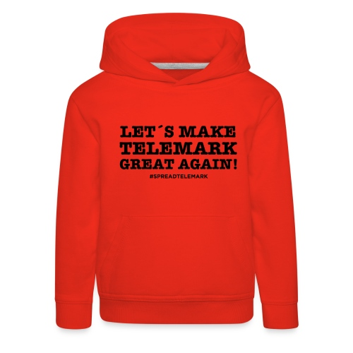 Let´s make telemark great again - Lasten premium huppari