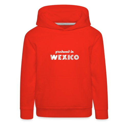 Wexico White - Kids' Premium Hoodie