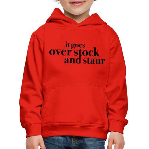 overstockandstaur - Premium Barne-hettegenser