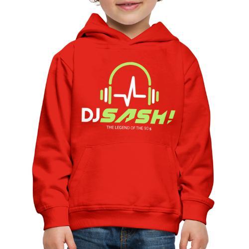 DJ SASH! - Headfone Beep - Kids' Premium Hoodie