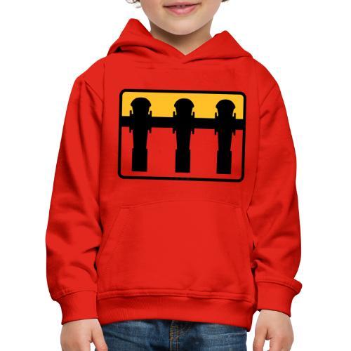 Kickerspieler - Kickershirt - Kinder Premium Hoodie
