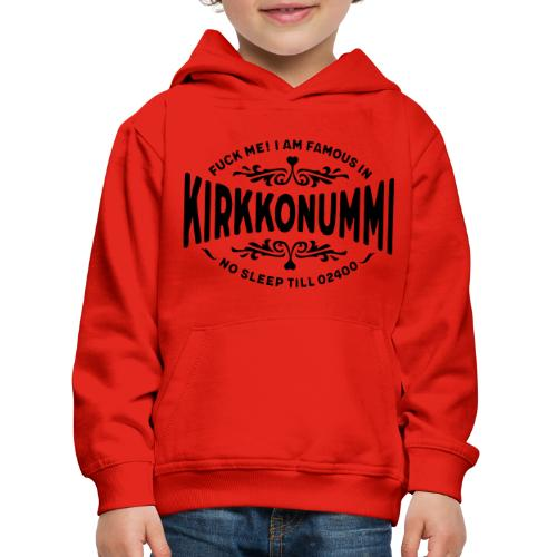 Kirkkonummi - Fuck Me - Lasten premium huppari