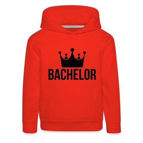 bachelor king - Kinderen trui Premium met capuchon