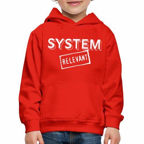 22 Systemrelevant - Kinder Premium Hoodie