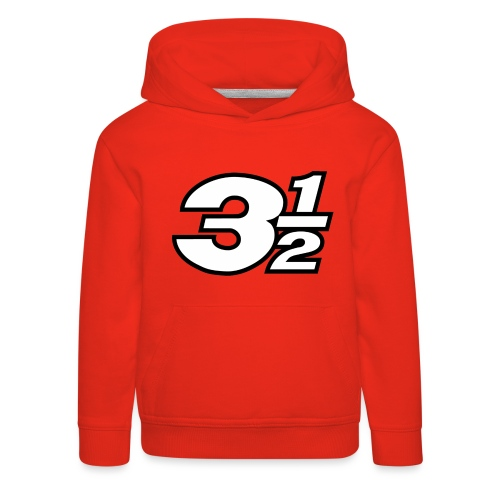 Three and a Half Logo - Kids' Premium Hoodie