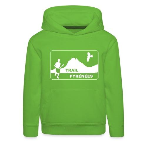 Trail Pyrénées V4 - Pull à capuche Premium Enfant