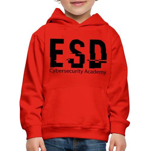 Design ESD Cybersecurity Academy - Pull à capuche Premium Enfant
