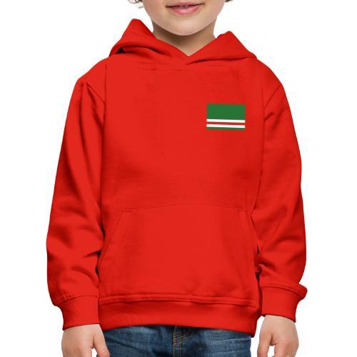 Chechen + Flag Kinder - Kinder Premium Hoodie