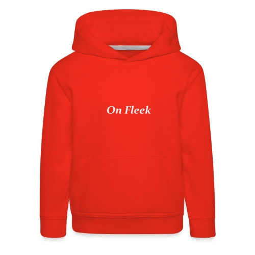 on fleek collection - Kids' Premium Hoodie