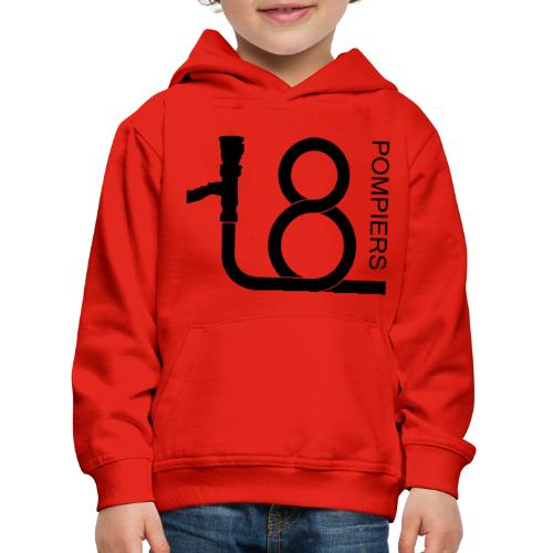 lance_18_1 - Pull à capuche Premium Enfant