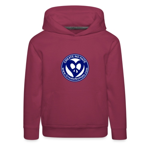 THIS IS THE BLUE CNH LOGO - Kids' Premium Hoodie