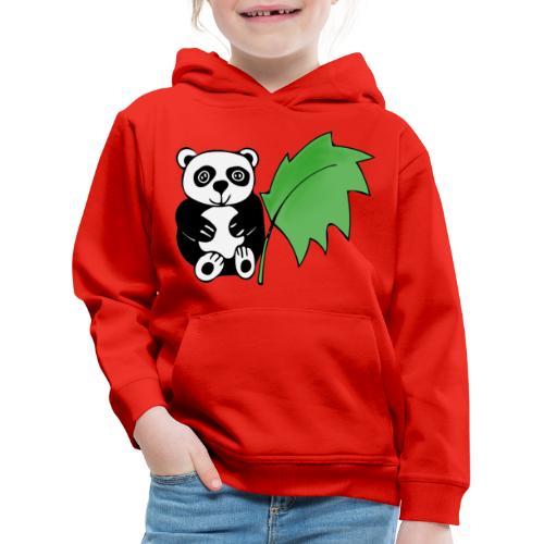 Panda - Felpa con cappuccio Premium per bambini