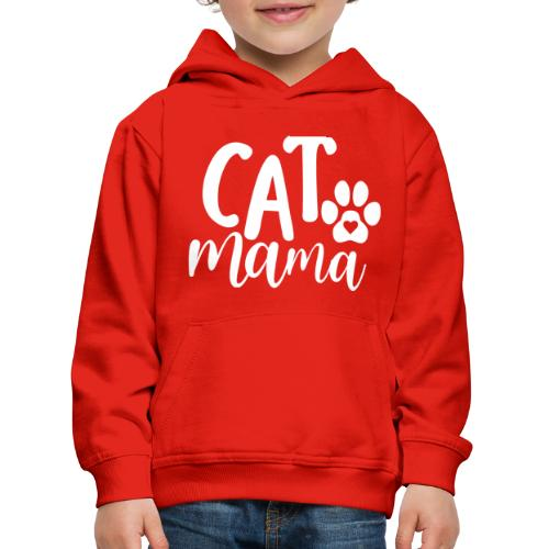 CAT MAMA - Pull à capuche Premium Enfant