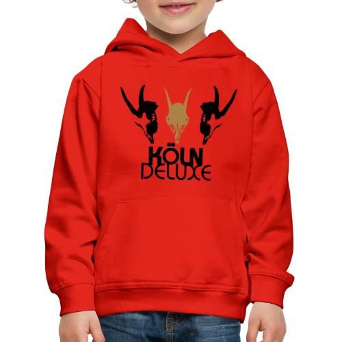 Geissbock Deluxe Motiv groß - Kinder Premium Hoodie