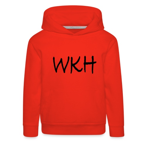 WKH Brand - Official WhizKidHero Merch - Kids' Premium Hoodie