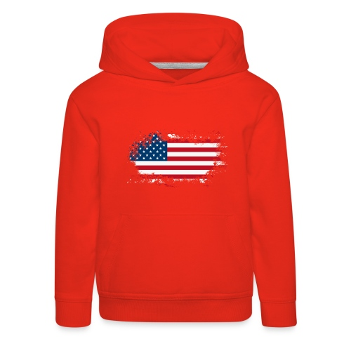 America - Kinderen trui Premium met capuchon